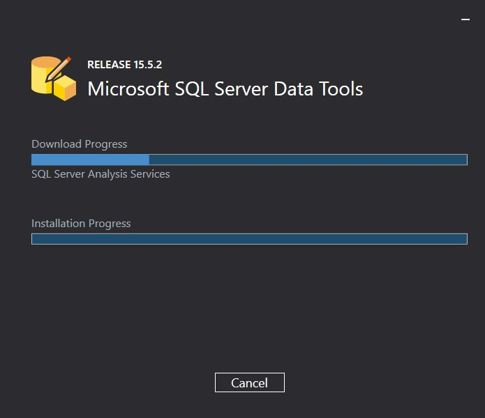 SSDT 15.5.2 for Visual Studio 2017 Installation continues after necessary package URLs are allowed in Enhanced Security Configuration